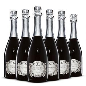 Confezione 6 bottiglie Prosecco Docg Brut – Canella